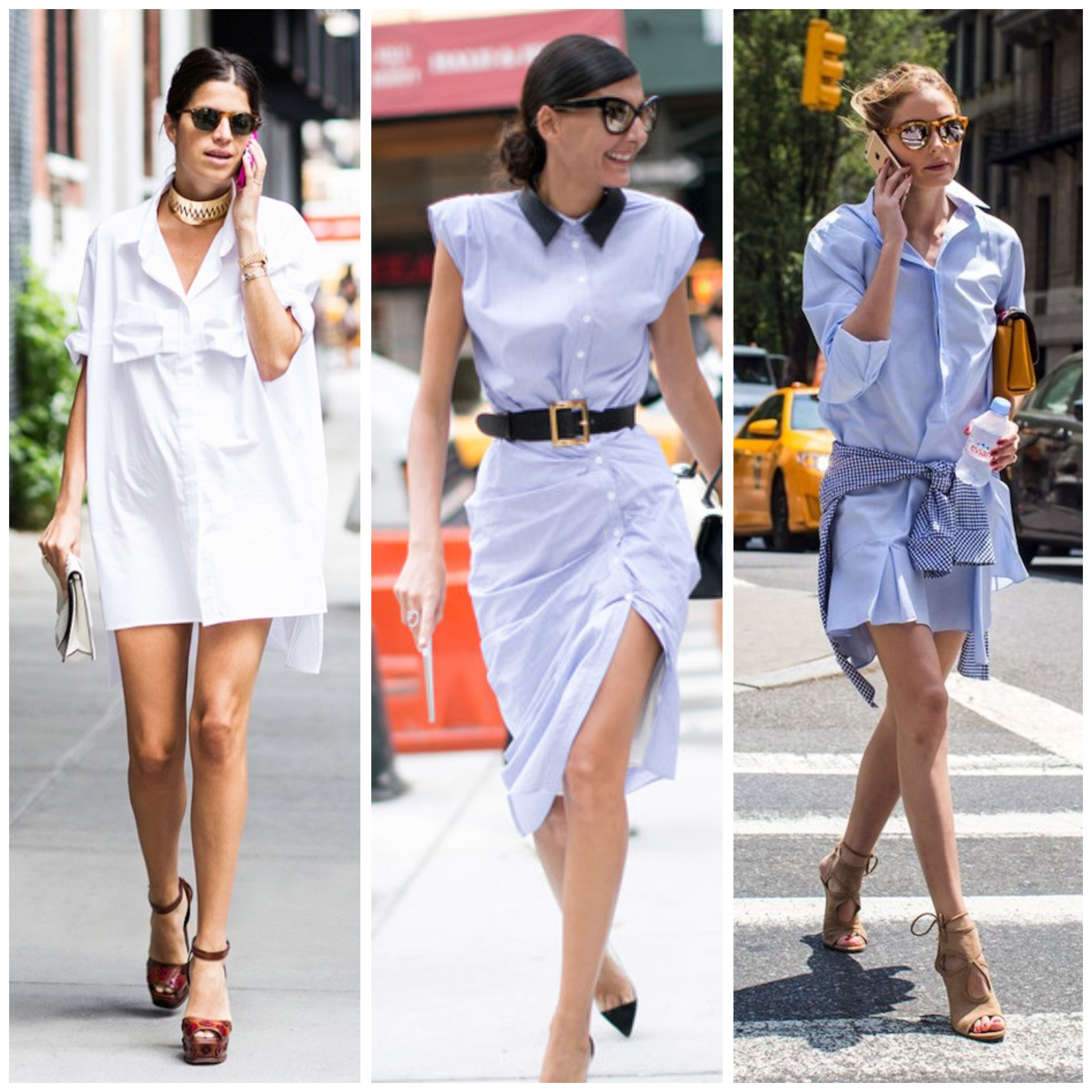 "3c8eeb929d It is really versatile but I personally prefer the ""in town"" version in  white or baby blue paired with heels (pointy shoes or sandals) as seen on  Leandra ..."